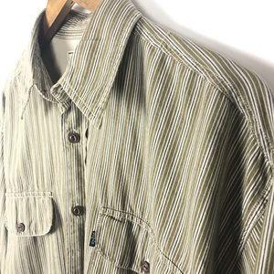 Levi's Mens Casual Button Front Shirt Size Medium